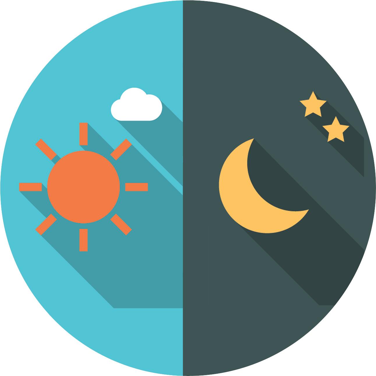 Heures creuses et heures pleines pour l'électricité : division de la journée en deux parties : le régime tarifaire jour et le régime tarifaire nuit