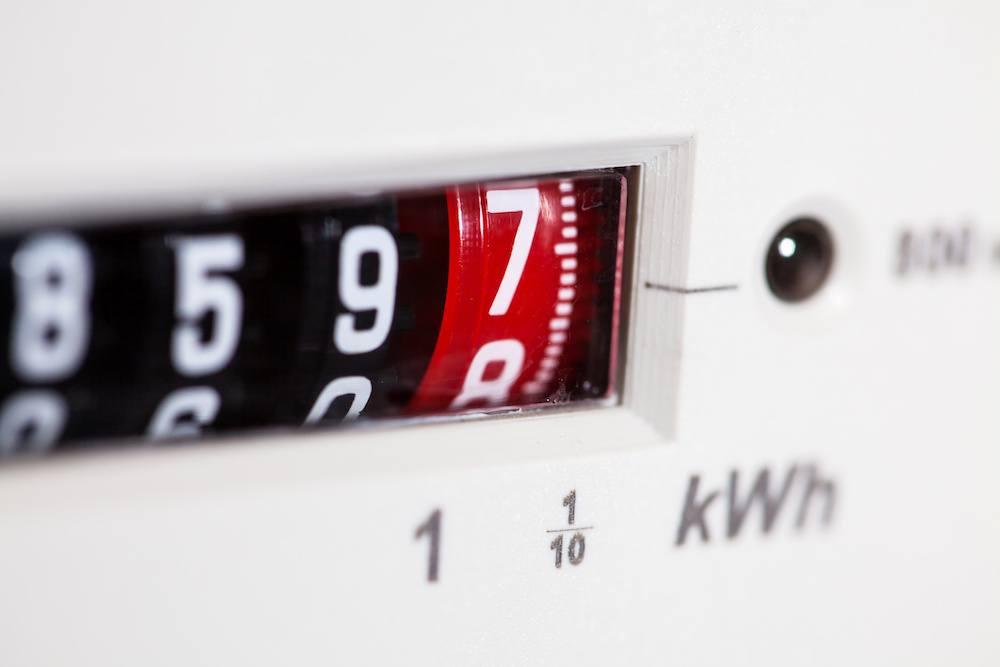 Index d'un compteur d'énergie