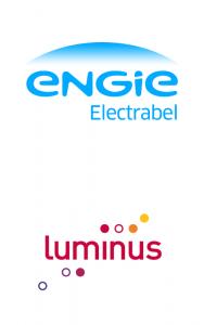 Logos de Engie Electrabel et de Luminus
