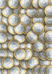 Euro's die een energie vergelijker mogelijk maakt om te besparen