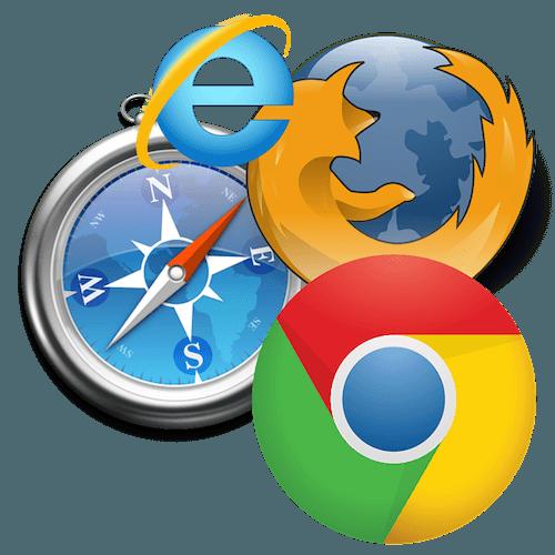 Navigateurs web pour trouver une offre d'énergie en ligne