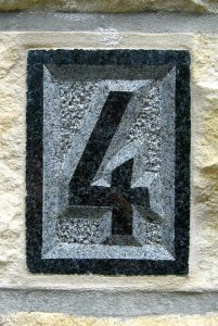 Numéro d'une maison