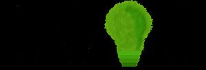 Quatre ampoules dont trois sont noires et une verte