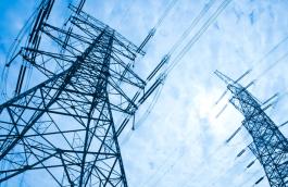 Pylônes et réseau électrique