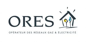 Logo du principal GRD wallon : ORES