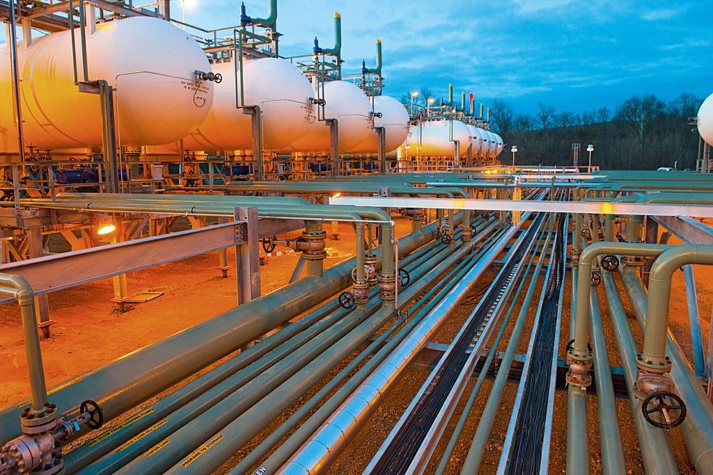 Conduites de gaz naturel
