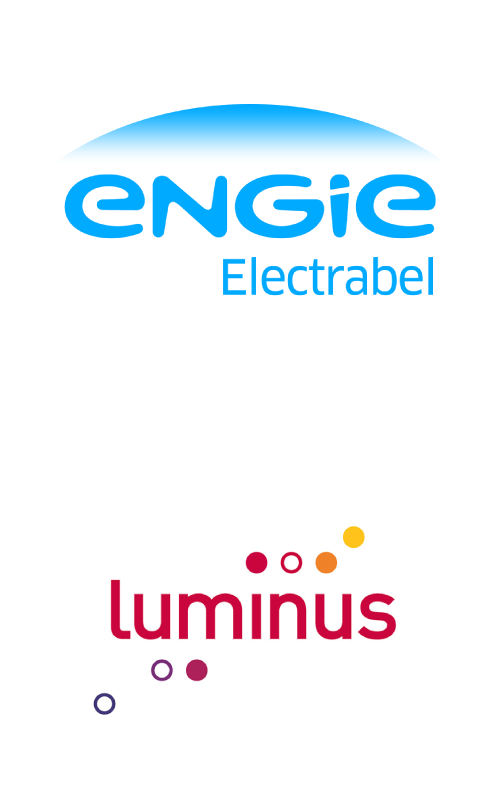 Engie Electrabel and Luminus logos