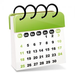 Calendrier pour choisir une date d'entretien