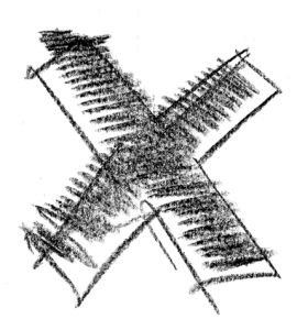Kruis synoniem met beëindiging van het contract