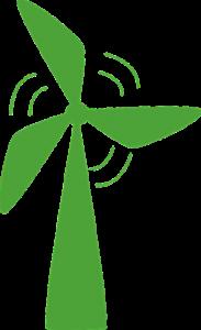 Des fournisseurs verts investissent notamment dans la construction d'éoliennes.