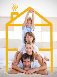 Consommation de gaz d'une famille de quatre personnes