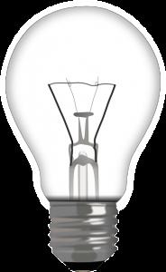 Energie-intensieve lampen vervangen door spaarlampen doet het stroomverbruik dalen.