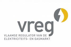 Logo van de VREG