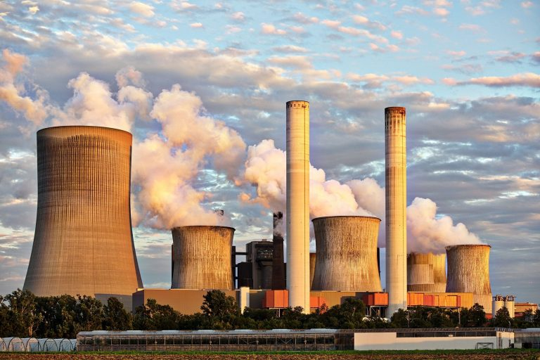 Nuclear power stations - thermal power station