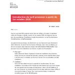 Communication tarif prosumer par Eneco