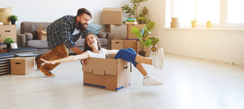 moving out and moving in